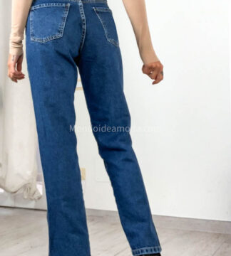Jeans spacco laterale