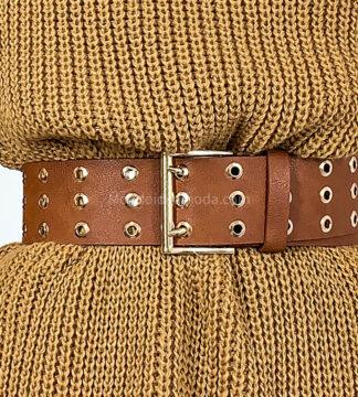 Cintura borchie forate