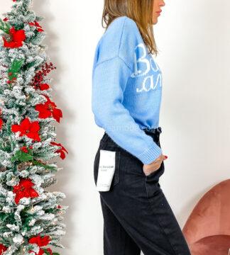 Jeans caramella sfrangiato