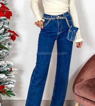 Jeans con borsello