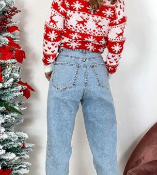 Jeans tasche taglio uomo