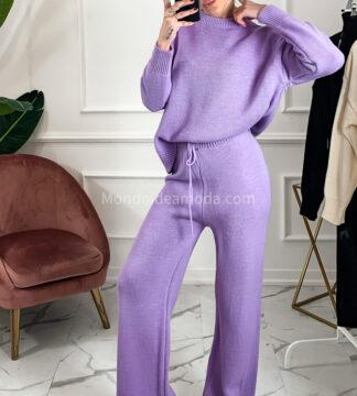 Cordset comodo maglia pantalone