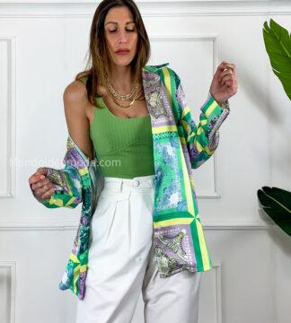 Camicia maioliche