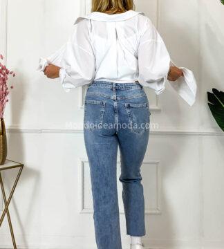 Jeans dritto elasticizzato