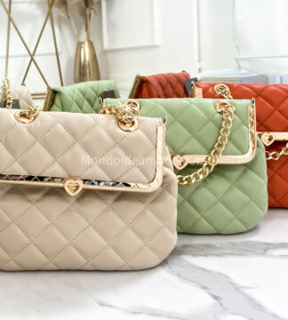 Mini bag trapuntata