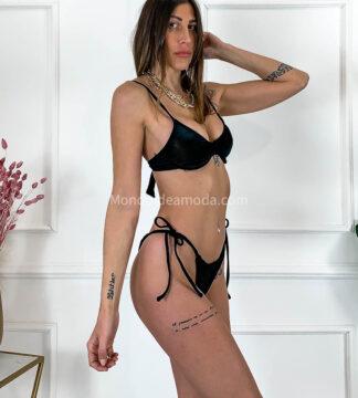 Bikini velluto coste