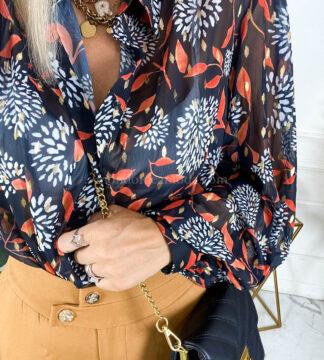Camicia manica palloncino