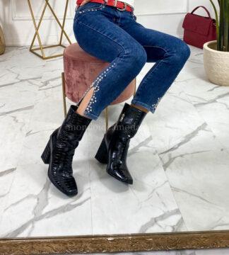 Jeans borchie