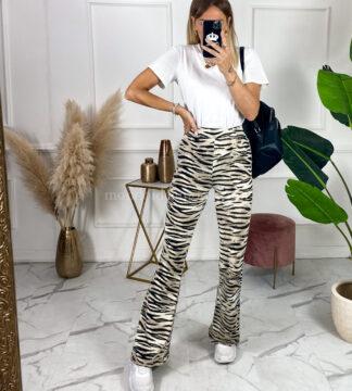 Pantalone zebrato