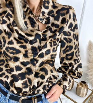 Camicia leopardata