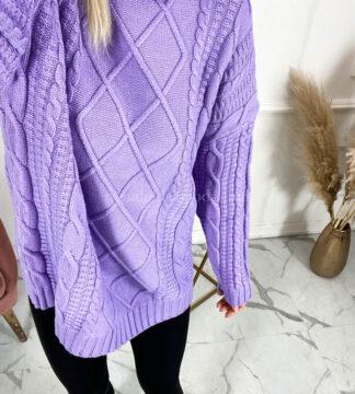 maglione intrecciato